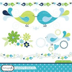 Bird tweets clipart