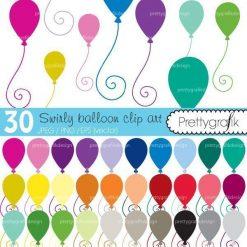 Balloons clipart