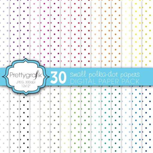 Polka dot papers