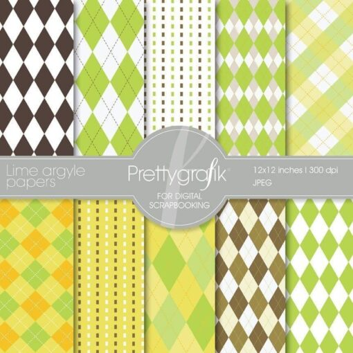 lime argyle papers