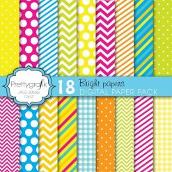 Bright colors papers
