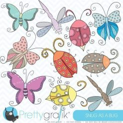 Bugs & insects clipart