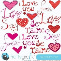 Love word clipart