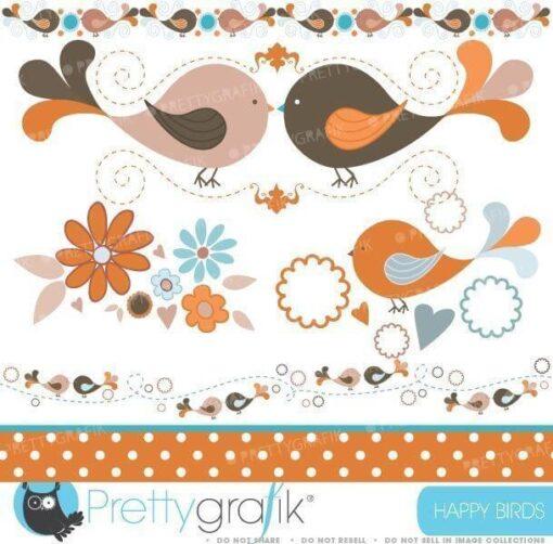 Bird tweets clipart
