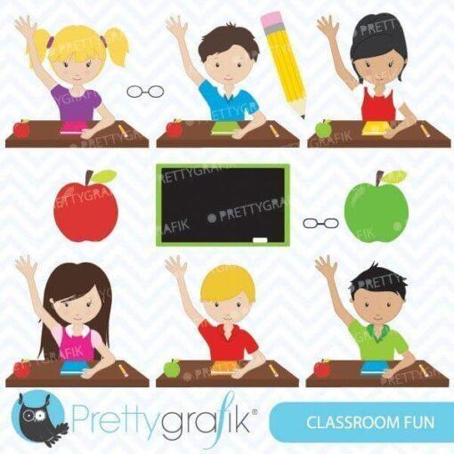 Classroom fun clipart