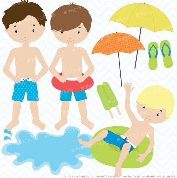 Pool Boy - Pool Boy Clip Art - Png Download (#930924) - PinClipart