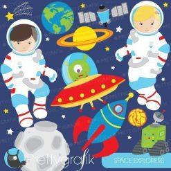 Space astronaut clipart