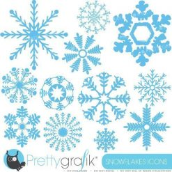 Ornament snowflake clipart