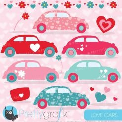 Love bug car clipart