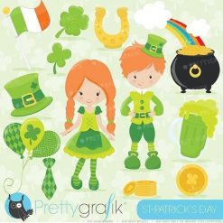 St-Patrick kids clipart