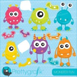 Monster fun clipart