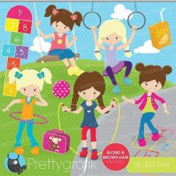 Recess fun clipart