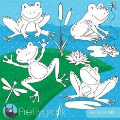 Frog pond stamps