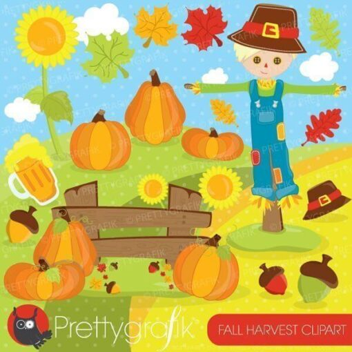 Fall harvest clipart
