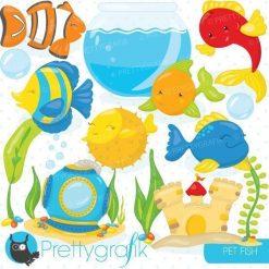 Fish bowl clipart
