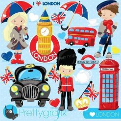 London trip clipart