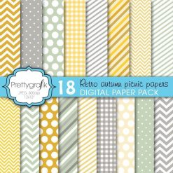 Autumn picnic papers