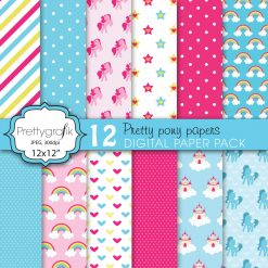 Pretty pony papers