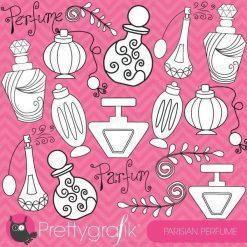 Paris perfume stamps