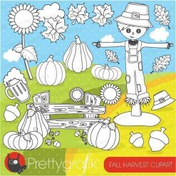 Fall harvest stamps