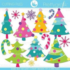 Christmas decoration cutting files