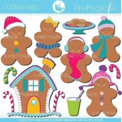 Gingerbread cutting files