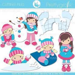 Snow fun cutting files