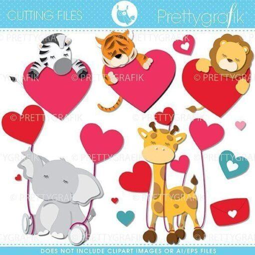 Valentine animal cutting files