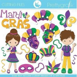 mardi gras cutting files