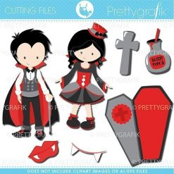 Vampire kids cutting files