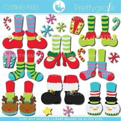 Christmas feet cutting files