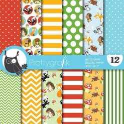 Woodland animal papers