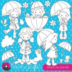 April showers stamps