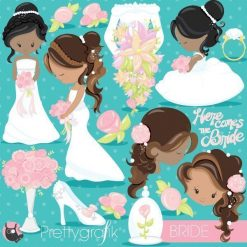 wedding bride clipart