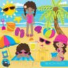 beach party clipart