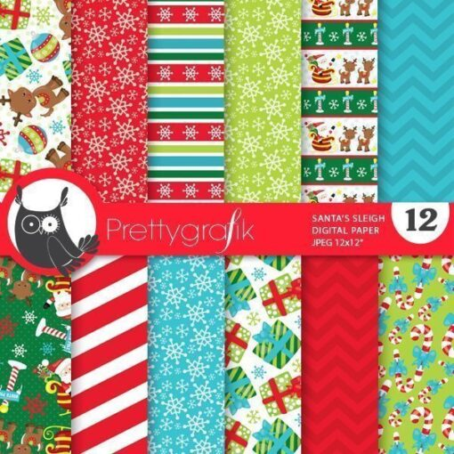 Santa's sleigh papers
