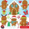 Gingerbread baby clipart