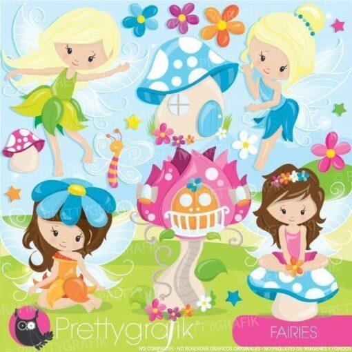 Fairies clipart