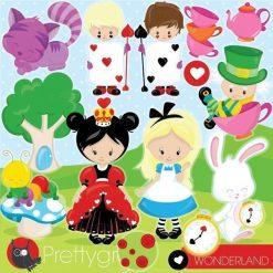 Wonderland clipart