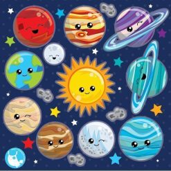 solar system clipart