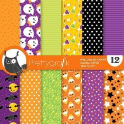 Kawaii Halloween papers