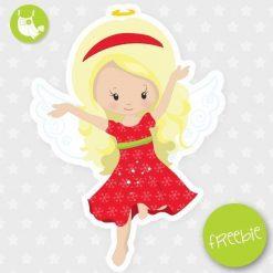 Christmas angel Freebie