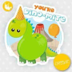 Dinosaur Freebie