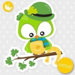 St-Patrick owl Freebie