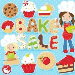 Bake sale clipart