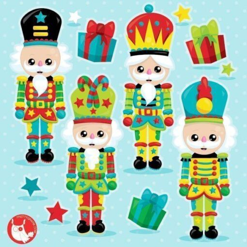 Christmas nutcracker clipart
