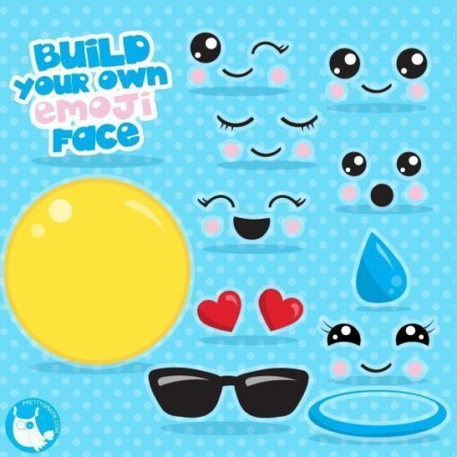 Build an emoji clipart