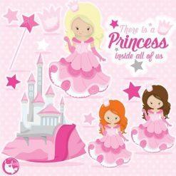 Princess clipart