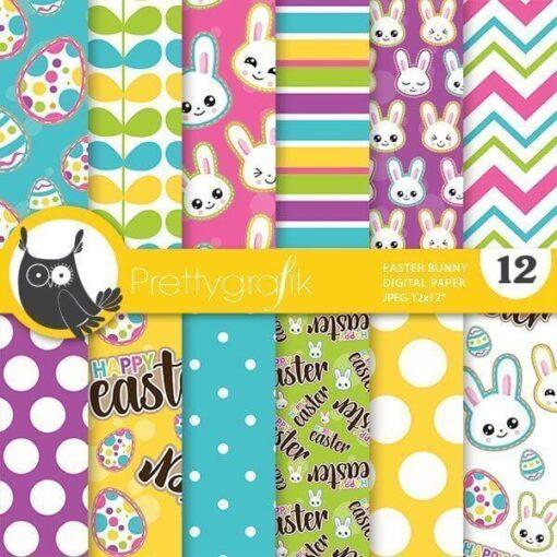 Bunny emoji papers