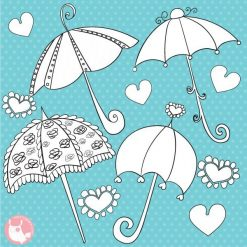 Umbrella stamps